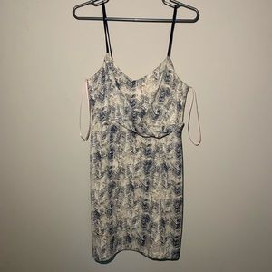 Patterned Forever 21 dress